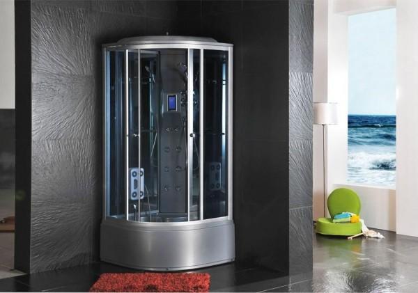 Cabine idromassaggio cabina idrom sauna bagno turco 90x90 c g home design - Cabina doccia con sauna e bagno turco ...