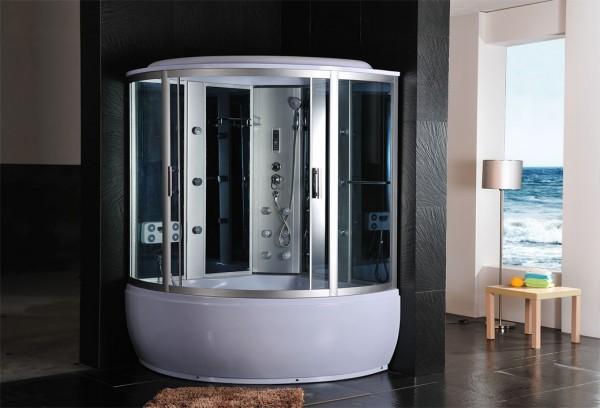 Cabine idromassaggio cabina idrom sauna bagno turco 150x150 c g home design - Vasca da bagno con doccia incorporata ...