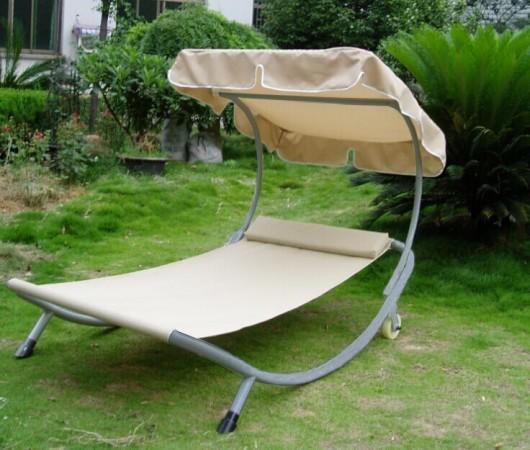 Gazebi ombrelloni sdraio lettino prendisole design ecru for Arredo giardino design on line