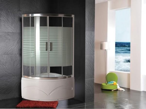 Box doccia cabina   box doccia 110x110x210 con vasca/piatto   c&g ...