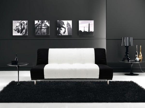 Divani letto divani tessuto divano letto reclinabile for Divani bianchi moderni