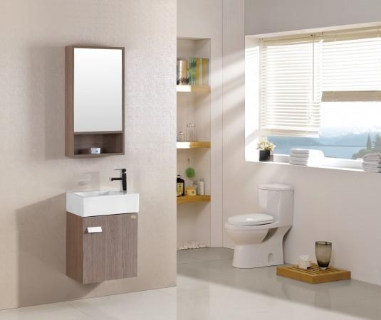Arredo bagno mobile singolo mobile bagno pensile acero da 46 cm completo c g home design - Mobile pensile bagno ...
