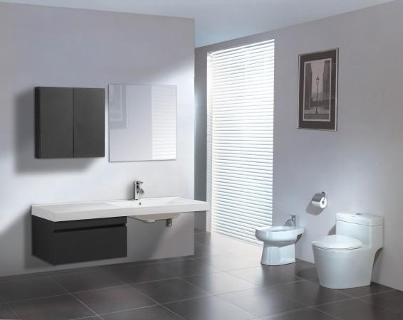 Arredo bagno mobile singolo mobile bagno pensile wenge for Mobile bagno wenge offerte