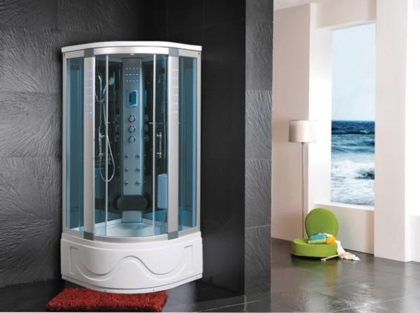 CABINE IDROMASSAGGIO CABINA IDROM. SAUNA BAGNO TURCO 105X105 - C&G Home design