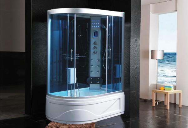 CABINE IDROMASSAGGIO CABINA IDROM. SAUNA BAGNO TURCO 130X85 - C&G Home design