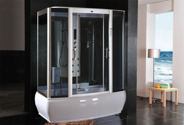 Cabine idromassaggio cabina idrom sauna bagno turco 170x90 c g home design - Cabina doccia con sauna e bagno turco ...