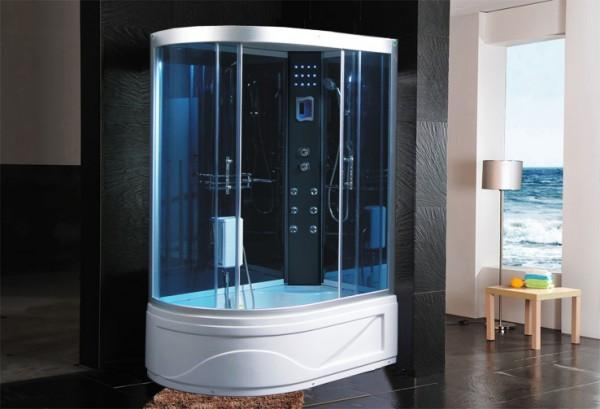 Cabine idromassaggio cabina idrom sauna bagno turco 115x90 c g home design - Colonna doccia bagno turco prezzi ...
