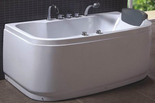 Vasche idromassaggio vasche vasca idromassaggio doppia bagno 150x85 full opt c g home design - Vasca da bagno doppia ...