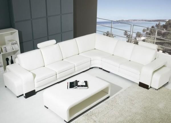Divani soggiorno divani in pelle divano salotto pelle sofa americano soggiorno 12 posti c g - Copridivano angolare per divano in pelle ...