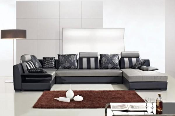 Divani soggiorno divani angolari divano salotto microfibra - Cuscini moderni divano ...