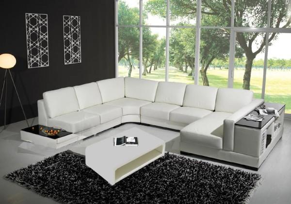 Divani soggiorno divani in pelle divano libreria pelle sofa americano soggiorno 12 posti c g - Copridivano angolare per divano in pelle ...