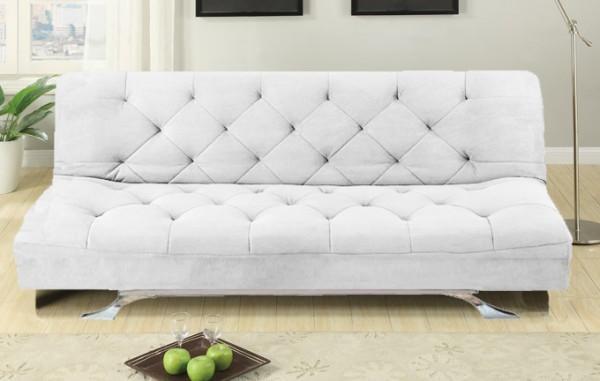Divani letto divani tessuto divano letto reclinabile for Divano letto bianco