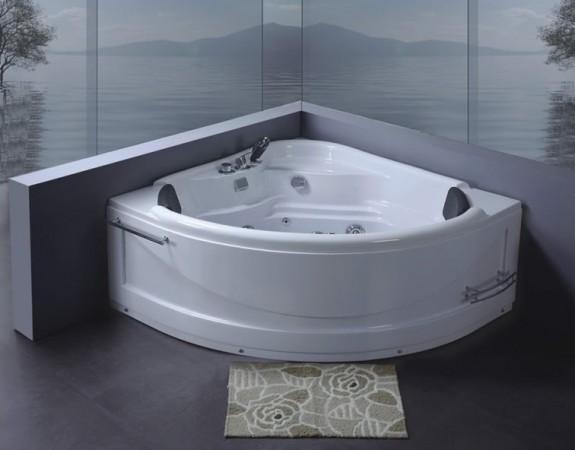 Vasche idromassaggio vasche vasca idromassaggio doppia bagno 130x130 pompa c g home design - Vasca da bagno doppia ...