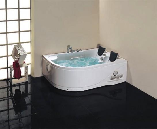Vasche idromassaggio vasche vasca idromassaggio doppia bagno 180x120 ozono c g home design - Vasca da bagno doppia ...