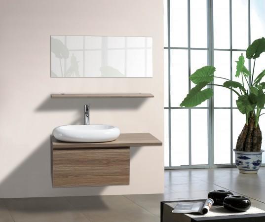 Arredo bagno mobile singolo mobile bagno pensile acero da 100 cm completo c g home design - Mobile pensile bagno ...