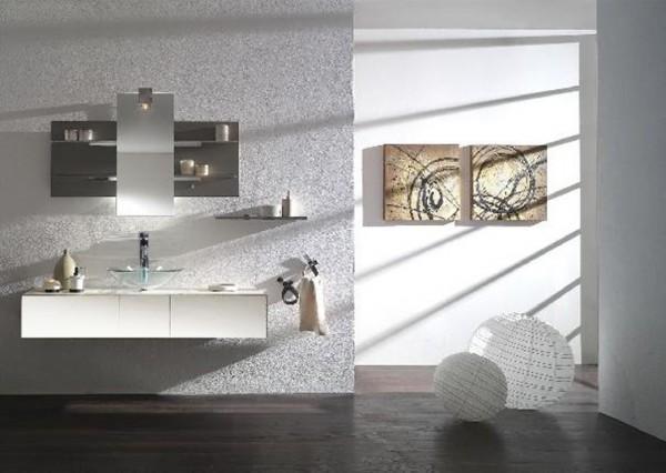 Arredo bagno mobile singolo mobile bagno pensile bianco da 140 cm completo c g home design - Pensile bagno bianco ...