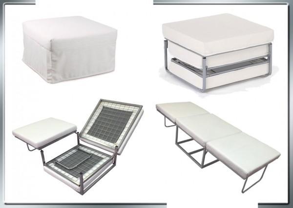 Pouf letto pouf letto reclinabile pouff letto bianco c - Pouf letto design ...