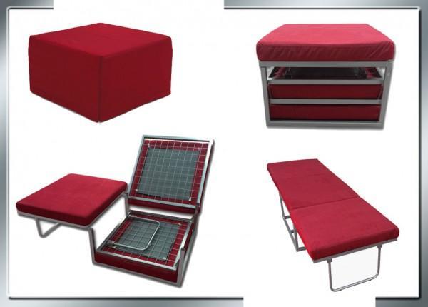 Pouf letto pouf letto reclinabile pouff letto rosso c - Mondo convenienza pouf letto prezzo ...