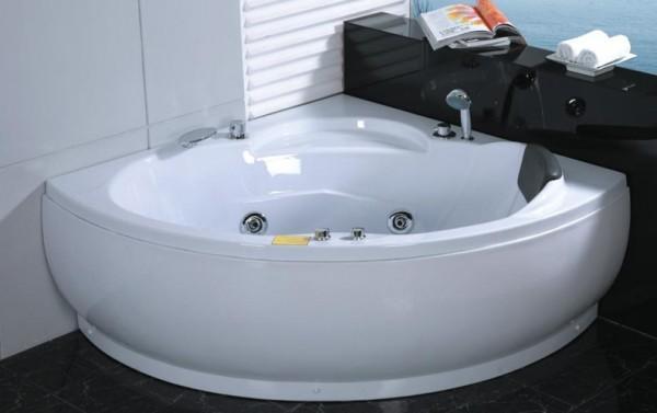 Vasche idromassaggio vasche vasca idromassaggio doppia bagno 135x135 7 getti c g home design - Vasca da bagno doppia ...