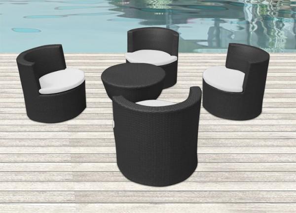 Arredamento esterno divani in rattan set tavolo sedie - Sedie in rattan per esterni ...