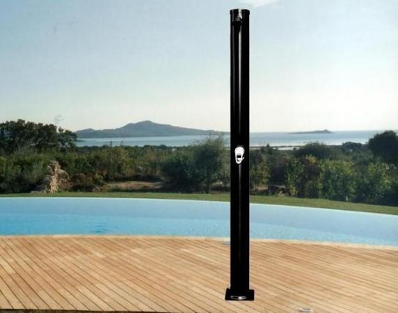Docce solari doccia solare 35 lt nera da esterno c g home design - Doccia da esterno solare ...