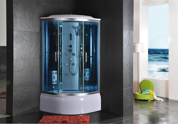 CABINE IDROMASSAGGIO CABINA IDROM. SAUNA BAGNO TURCO 100X100 - C&G Home design