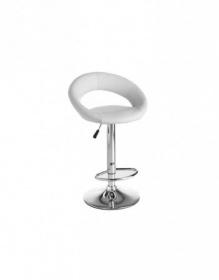 Sgabelli e poltrone sgabello singolo sgabello design moderno ecopelle bianco cucina bar c g - Sgabello design cucina ...