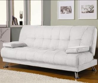 Divani letto divani ecopelle divano letto reclinabile ecopelle bianco ufficio salotto c g - Divano ecopelle bianco ...