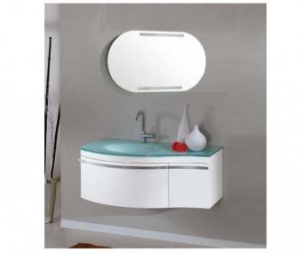 Arredo bagno mobile singolo mobile bagno pensile bianco da 100 cm completo c g home design - Mobile pensile bagno ...