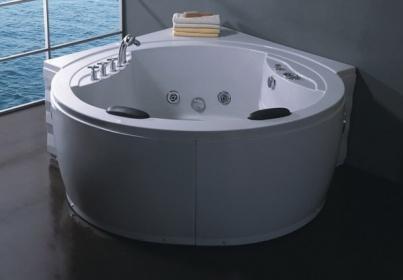 Vasche idromassaggio vasche vasca idromassaggio doppia bagno 180x180 ozono c g home design - Vasca da bagno doppia ...