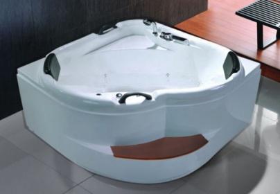 Vasche idromassaggio vasche vasca idromassaggio doppia bagno 140x140 ozono c g home design - Vasca da bagno doppia ...