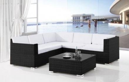 Arredamento esterno divani in rattan set divano rattan for Arredamento x esterno offerte