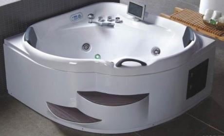 Vasche idromassaggio vasche vasca idromassaggio doppia bagno 150x150 ozono c g home design - Vasca da bagno doppia ...