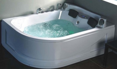 Vasche idromassaggio vasche vasca idromassaggio doppia - Vasche da bagno grandi ...